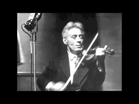 Fritz Kreisler plays 'Songs My Mother Taught Me' by Dvorak