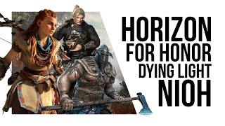 PG Gaming Podcast #1   Horizon Zero Dawn, For Honor, Dying Light, Nioh