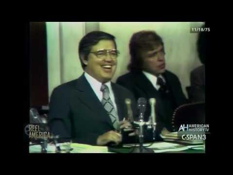 Church Committee Hearings FBI Ops against MLK 1975