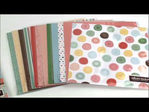 Dear Lizzy Fabric Paper demo by American Crafts - Craft Room