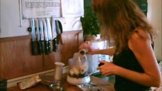 Raw Wild Rice Pudding