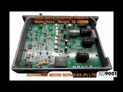 Hass Servo Amplifier Repairs @ Advanced Micro Services Pvt  Ltd