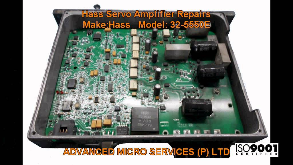 Hass Servo Amplifier Repairs @ Advanced Micro Services Pvt   Ltd,Bangalore,India