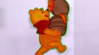 Como Hacer una Decoracion y un Maquillaje de Winnie Pooh en Foami- HogarTv por Juan Gonzalo Angel