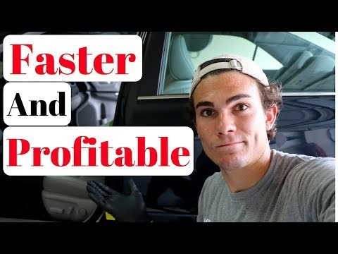 How To Detail A Clean Car: Auto Detailing Business Tips!