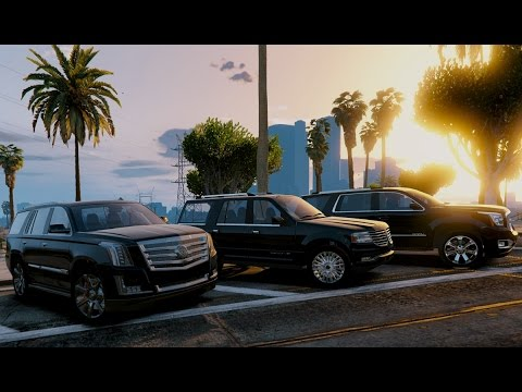 GTA V | CADILLAC ESCALADE 2017 VS. LINCOLN NAVIGATOR VS ...