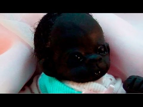 World's Darkest / Blackest Baby born in South Africa