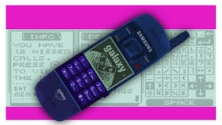 The Samsung Galaxy Fold in the late '90s - Wonders of the World Wide Web