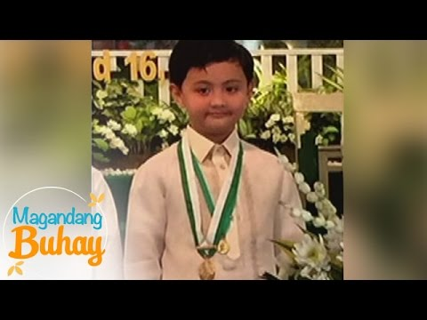 Magandang Buhay: Alonzo is a first honor student