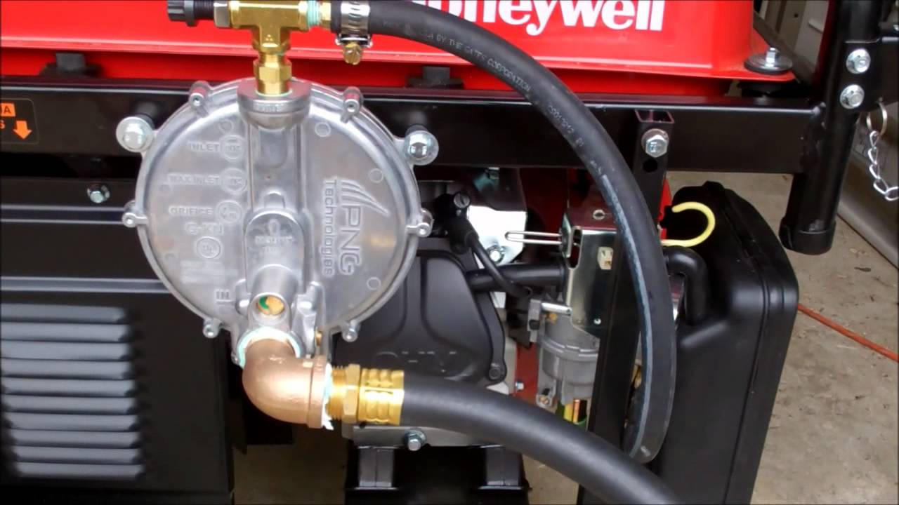 Portable Generator Conversion to Natural Gas & Propane
