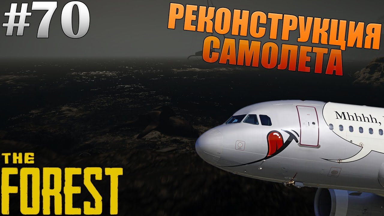 Где найти кабину самолёта в the forest