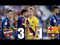 Levante vs Barcelona [3-1],  La Liga 2019/20 - MATCH REVIEW