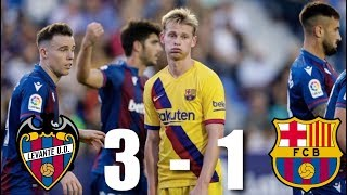 Barcelona fell short once again in la liga, losing 3-1 against levante after jose campana shone for the home side. lionel messi scored a penalty and had anot...