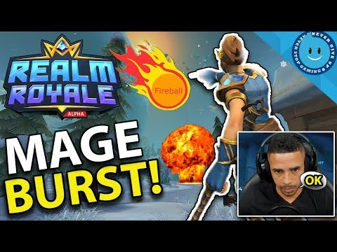 WHY EVERYONE HATES MAGE IN REALM ROYALE: CRAZY BURST! REALM ROYALE GAMEPLAY