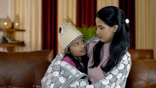 Closeup shot of Indian mother spending quality time with her daughter - family concept