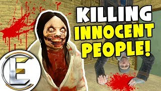 Killing Innocent People - Gmod DarkRP Life (Hidden Murderer Let Lose Downtown With Super Speed)