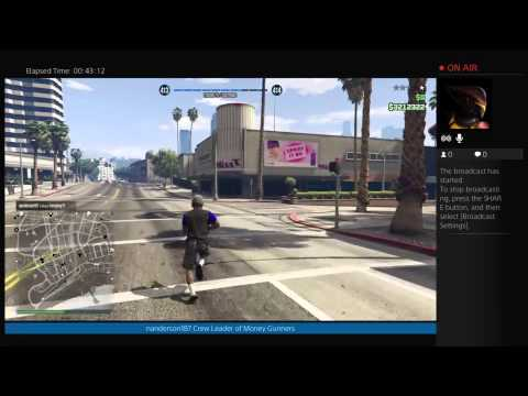 GTA 5 Online: MYGS Live Broadcast 2/8/15 {PS4}