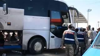 Otobüsün Her Yanından Kaçak Göçmen Çıktı