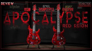 New Schecter Guiter C-1 & C-7 Apocalypse Red Reign [ Review ]