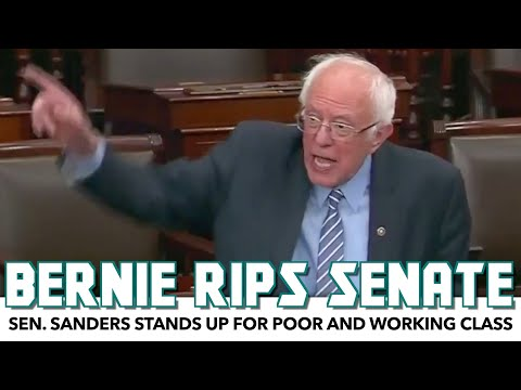 Bernie Rips Senate Over Attempts To Punish Poor People