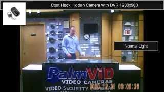 Coathook-dvr-v2 Hidden Camera Coat Hook Sample Video