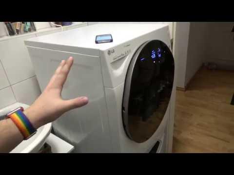 Smarte Waschmaschine? LG TwinWash Unboxing & Erster Eindruck - touchbenny
