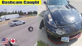 Ultimate North American Cars Driving Fails Compilation - 180 [Dash Cam Caught Video]