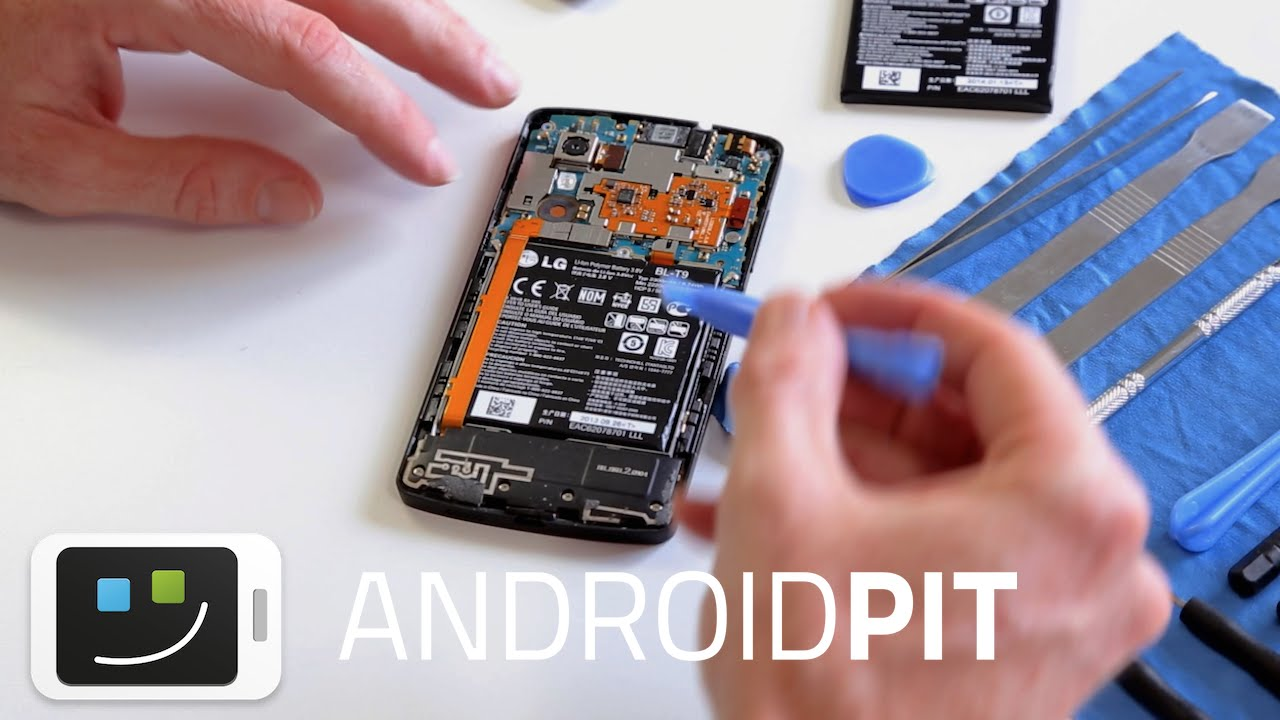 How to manually replace the Nexus 5 battery | AndroidPIT