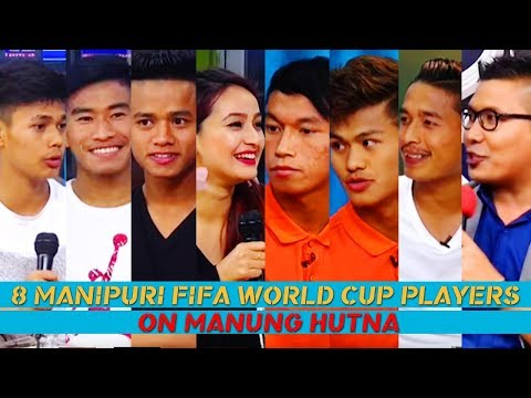 8 MANIPURI FOOTBALLERS U17 FIFA WORLD CUP 2017 On Manung Hutna 16 October 2017