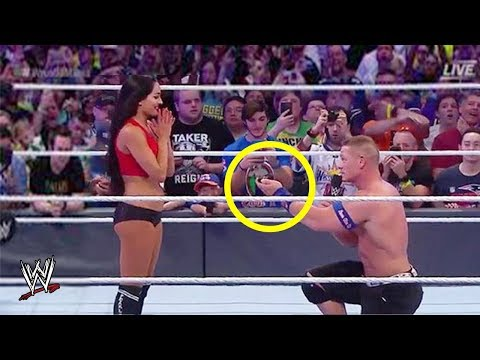 10 WWE Wrestlers Who BROKE CHARACTER On Live TV!