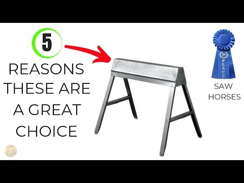 The best saw horses ever and how to make your own saw horses work better