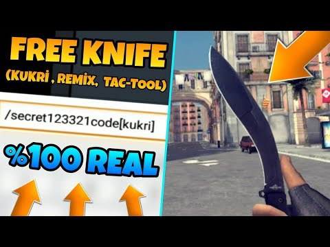 Critical Ops - How To Get A KURKI KNIFE For FREE! (Free Method!)