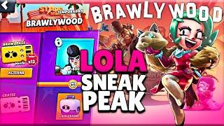 TODO sobre LOLA 💎 NUEVO BRAWLER 💎 Sneak Peek Brawl Stars 🔥 Alvaro845