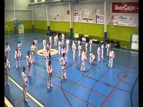 Fundamento Taekwondo Mu Duk Kwan con el Maestro CHONG SUNG KIM