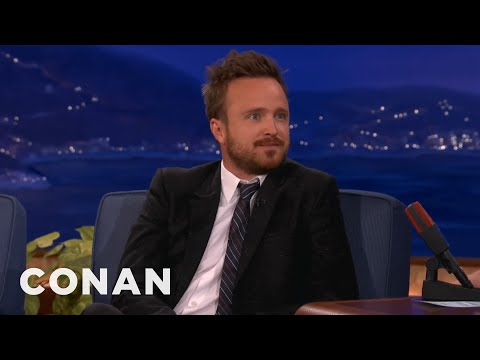 "Aaron Paul Can't Stop Saying ""Bitch"""