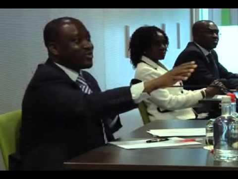 Rencontre entre le Président de l'assemblée Nationale Guillaume Soro et les Ivoiriens de Bruxelles