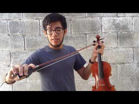 Conociendo el Violín con Adrian García