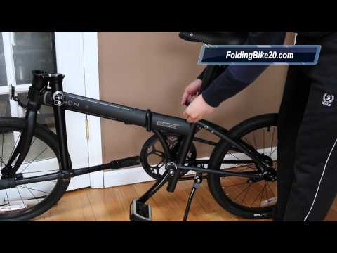 Dahon Speed Uno Folding Bike Unboxing & Assembly