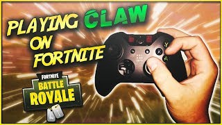 How to play Claw in Fortnite Battle Royale | Console Grip Explained | How To Play Claw