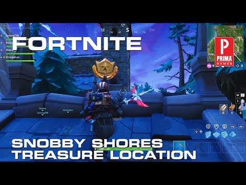 Fortnite Snobby Shores Treasure Map - Season 5
