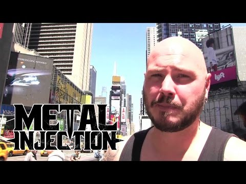 SOILWORK The Ride Majestic through NYC | Metal Injection