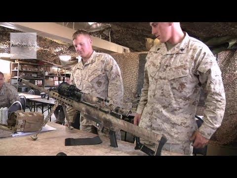 U.S. Marines - Barrett M82/M107 Sniper Rifle Class