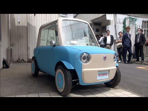 Rimono: A tiny two-seater car that is really easy to drive