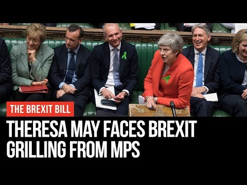 Theresa May Grilled By MPs Over New Brexit Deal - LBC