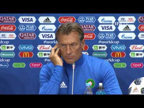 FIFA World Cup™ 2018: Portugal - Morocco: Morocco - Pre-Match Press Conference