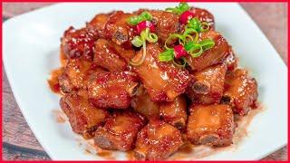Sườn Ram Mặn ngon tuyệt đẹp đơn giản của Cô Ba   perfect Vietnamese ribs pork