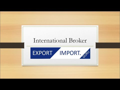 ExportImport.Guru : Entry In International Business Via International Brokers - Export Booster Barai