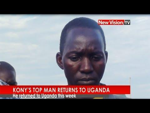 NEW VISION TV: Kony's top man returns to Uganda