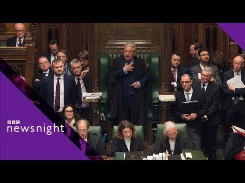 Brexit amendments - what now? - BBC Newsnight
