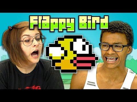 TEENS REACT TO FLAPPY BIRD